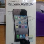 Screenguard Lg Optimus G E975/F180 (Clear)