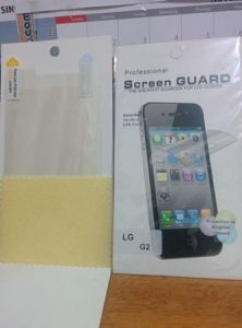 Screenguard Lg G2 D802 (Clear)