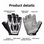 Sarung tangan Rockbros half finger S227